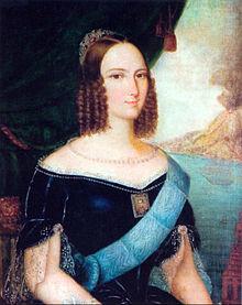 Óleo sobre tela de José Correia de Lima (1814-1857). Acervo Museu Imperial / Ibram / MinC.